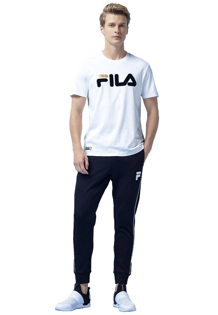 FILA T shirt Logo White Originale wqCYzxgR6