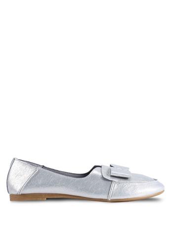 BETSY 銀色 Mila Ribbon 平底鞋 0C7F0SHEAF3AF2GS_1