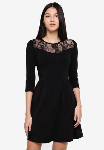 ONLY black Niella Lace Dress DB2F3AAB7E48E5GS_1