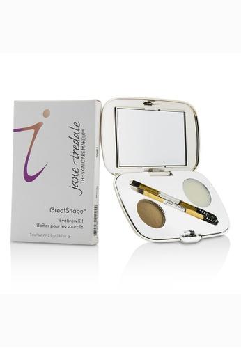 Jane Iredale JANE IREDALE - GreatShape Eyebrow Kit (1x Brow Powder, 1x Brow Wax, 1x Applicator) - Blonde 2.5g/0.085oz 40976BE9C269B5GS_1