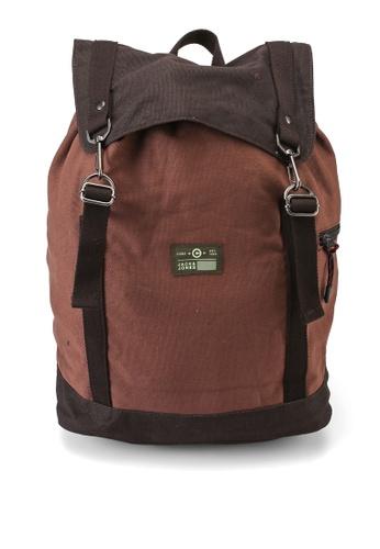 Jack & Jones brown Vance Backpack DBBD7AC008A2DCGS_1