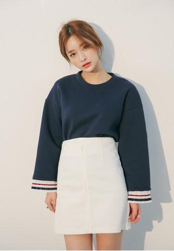 韓esprit outlet 家樂福式風格寬長袖衫, 服飾, 外套