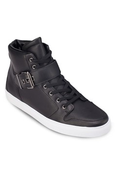 Buckled High Top Sneakers