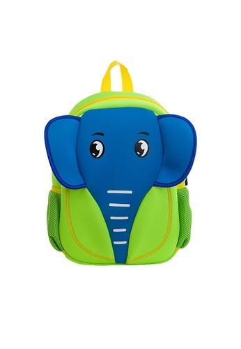 Nohoo green Nohoo Kids Backpack Elephant (Green) B23C2KC4897D52GS_1