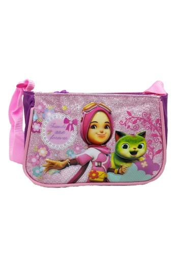 Boboiboy pink Boboiboy Yaya Sling Bag FB4CFKC646540BGS_1