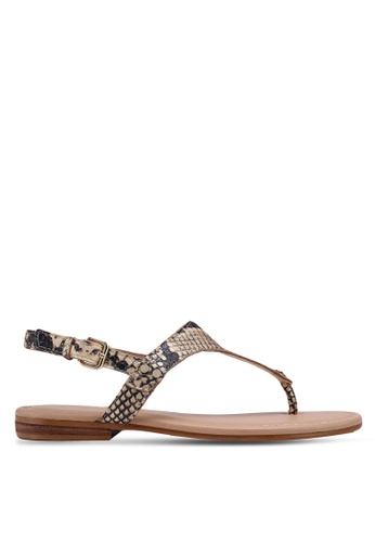 ALDO 米褐色 Ariaria 涼鞋 4F995SH93DAF63GS_1