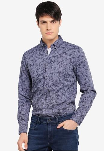 BOSS blue Epreppy Shirt - Boss Casual BO517AA0SRB4MY_1