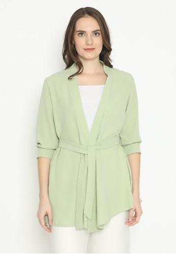 MINEOLA green Mineola Kimono Cardigan 81F56AA1271E5CGS_1