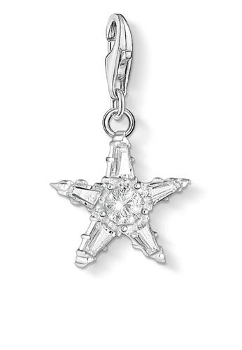THOMAS SABO white Charm Pendant Star 61577ACB63F9A6GS_1