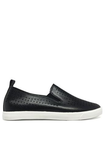 Twenty Eight Shoes black Breathable slip-on 16137 TW446SH14ZXDHK_1