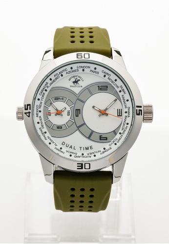 BEVERLY HILLS POLO CLUB green BHPC-20M GREEN Watch 611BDAC3BC9D33GS_1