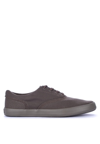 Sperry grey Wahoo CVO Flooded Sneakers F7FC9SH3446096GS_1
