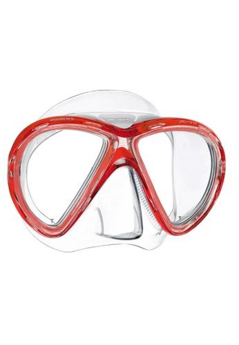 Mares Philippines red X-Vu Liquidskin Mask 411033          MA006SE23HWEPH_1