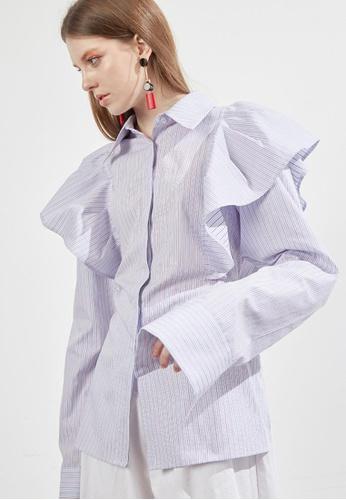 Workwear blue Pin Style Wing Shirts WO056AA50FIZSG_1