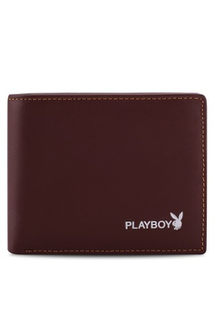 e912207a4bd7 Playboy brown Bifold Leather Wallet 22362AC9BE7277GS 1