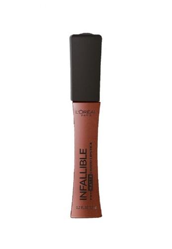 L'Oréal Paris pink L'Oreal Paris Infallible Pro-Matte Liquid Lipstick 352 Shake Down 2C058BE1347B7CGS_1