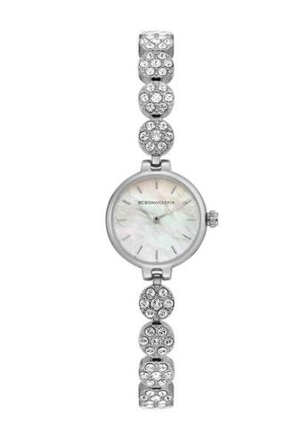 BCBG silver BCBGMAXAZRIA Silver Watch E0CB4ACE3758AEGS_1