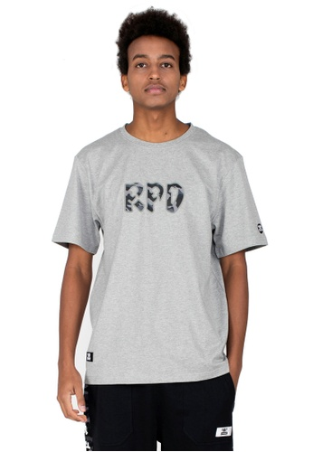 Reoparudo 灰色 RPD 迷彩印花T恤(灰色) 614EEAAFB405B5GS_1