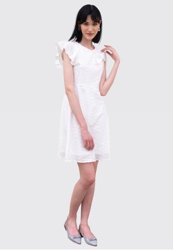 L'zzie white LZZIE NEFERTARI DRESS - WHITE C1A2FAAB97E350GS_1
