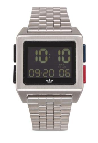 adidas silver adidas originals Archive M1 Watch E278DACACD8D93GS_1