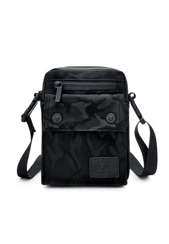 The Dude black Imagine Messenger Bag 65347ACF23DACDGS_1