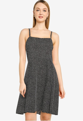 GAP black Print Cami Dress A1473AA075FAE6GS_1