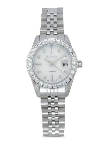 BONIA silver Bonia BNB10087-2357S Silver Stainless Steel Watch BO777AC0SDZVMY_1