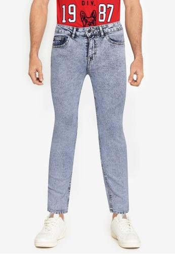 Aeropostale blue Super Skinny Fit Jeans 3E747AAD991DFCGS_1
