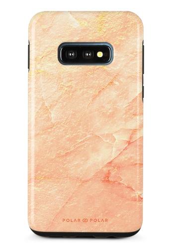 Polar Polar pink Sunset Samsung Galaxy S10E Dual-Layer Protective Phone Case (Glossy) 6F529AC910301EGS_1