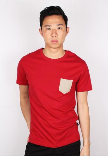 42c8df55 Buy Moley Cotton Twill Pocket T-Shirt Online on ZALORA Singapore