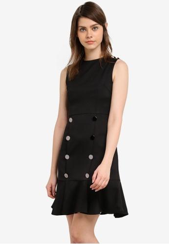 Megane black Pernilla Dress ME617AA0S0V3MY_1