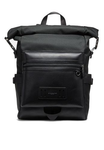 Coach black Terrain Roll-Top Backpack (cv) 563A7ACC0E1366GS_1