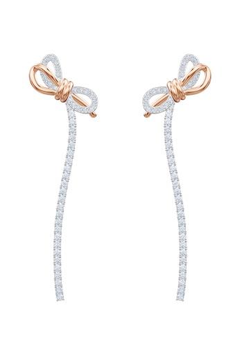 SWAROVSKI multi Lifelong Bow Pierced Earrings 7EFB5AC26A430EGS_1