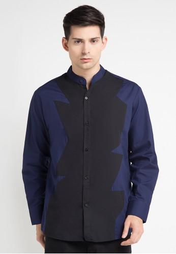 (X) S.M.L multi Chale Shirt XS330AA0WE91ID_1