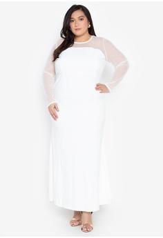 7028a35bd3e Shop Get Laud Plus Evening Dresses for Women Online on ZALORA ...