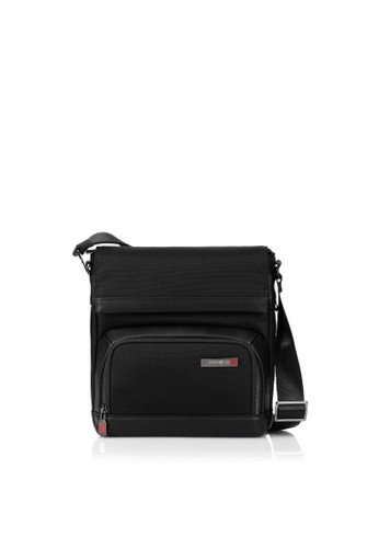 Samsonite black Samsonite Sefton Vertical Crossbody Bag – Black 42BD6AC234E76FGS_1
