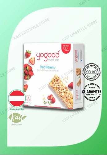 Kait Lifestyle YOGOOD Muesli Bars (138g) - Strawberry E857DESBD3C8ECGS_1