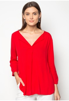 Marinella Elbow Sleeve Blouse