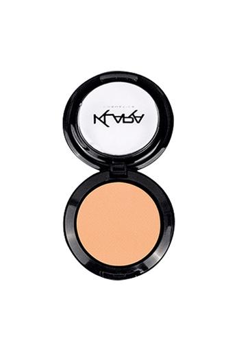 KLARA COSMETICS beige Matte Eyeshadow #14 - Decandent Cream 41DD3BE46C0610GS_1