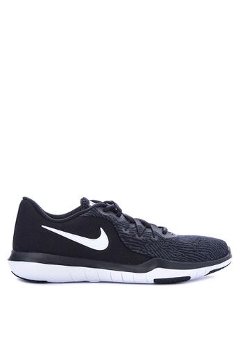 Nike black Women's Nike Flex Supreme TR 6 Training Shoes NI126SH0STXVMY_1
