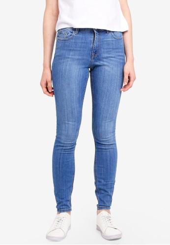 Miss Selfridge black Mid Skinny Jeans D9FFFAA8FE8E74GS_1