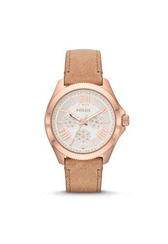 Fossil CECILE休閒型女錶 esprit 台灣門市AM4532, 錶類, 休閒型