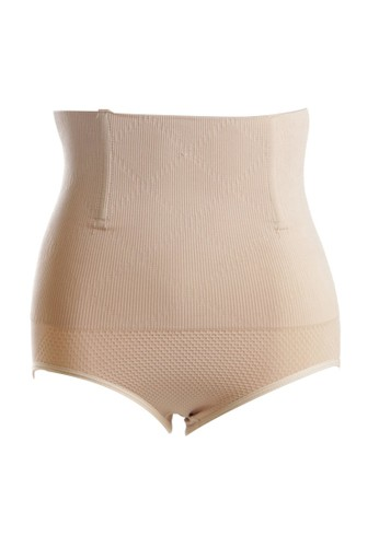 Eve Maternity beige Smooth and Seamless Slimming Corset Cream EV584US51ZPKID_1