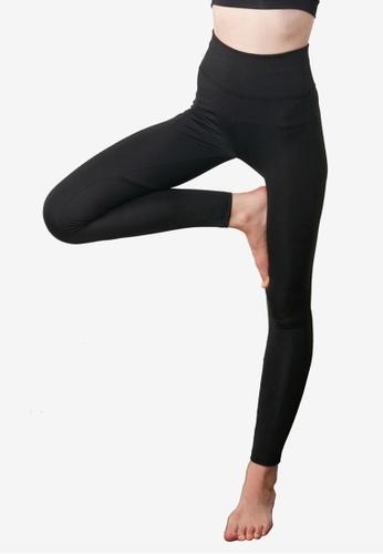Trendyol black Push-up Sports Leggings C530BAA15B61E2GS_1