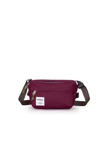 Hellolulu red Hellolulu Hollis Mini Bag (Wine) 49F2DACE814F0AGS_1