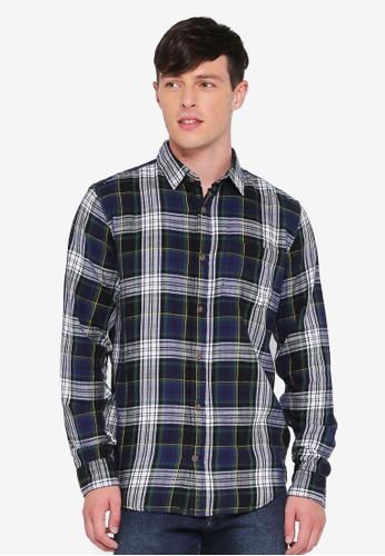 GAP multi Slub Cotton Twill Shirt 08364AA34BC7AFGS_1
