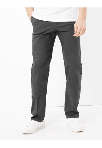 MARKS & SPENCER M&S Regular Fit Stretch Chinos C0B79AA1DEA585GS_1