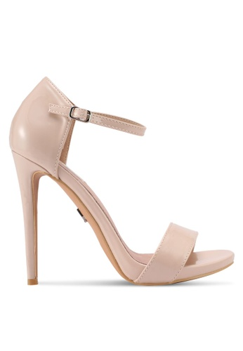 LOST INK pink Blossom Stiletto Heels LO238SH0T1RHMY_1