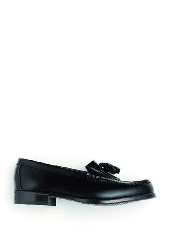 HARUTA black Tassel loafer-313 31022SH69AD55DGS_1
