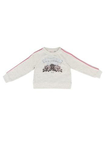 ONLY beige Gemma Printed Sweatshirt 9EAF3KA6CF9EAAGS_1